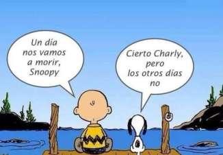 Charlie y Snoopy